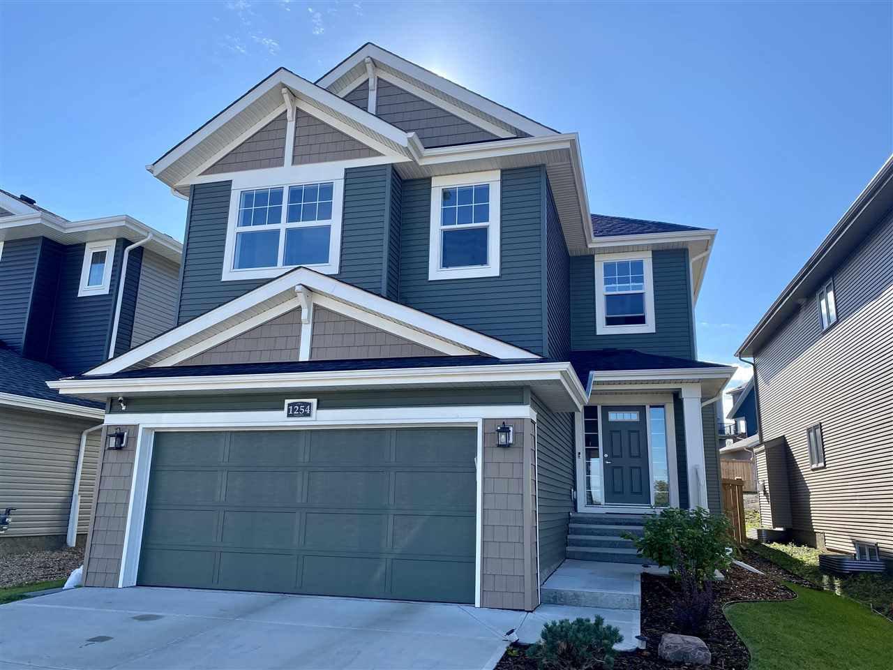 Main Photo: 1254 PEREGRINE Terrace in Edmonton: Zone 59 House for sale : MLS®# E4211748
