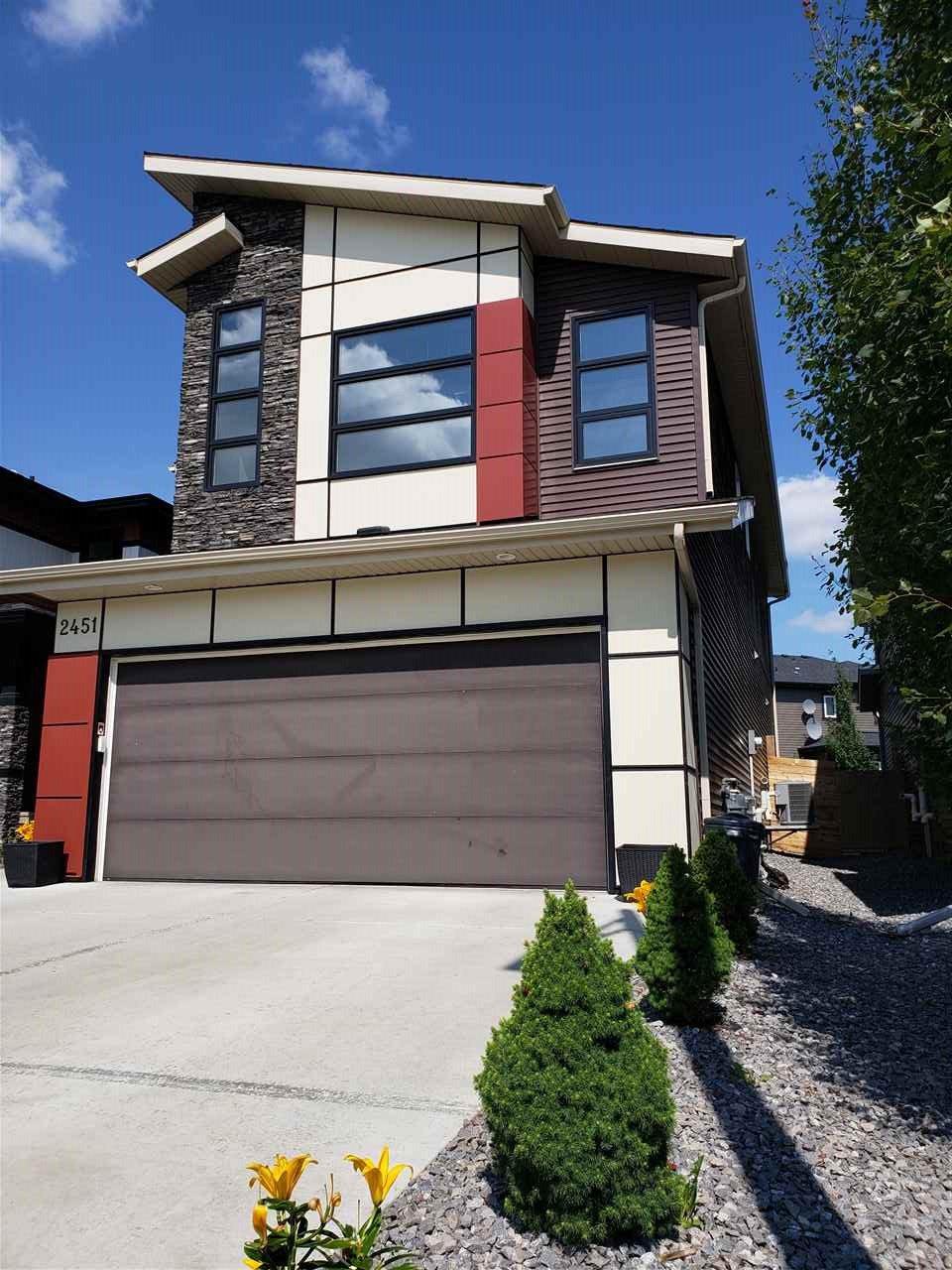 Main Photo: 2451 WARE Crescent in Edmonton: Zone 56 House for sale : MLS®# E4166619