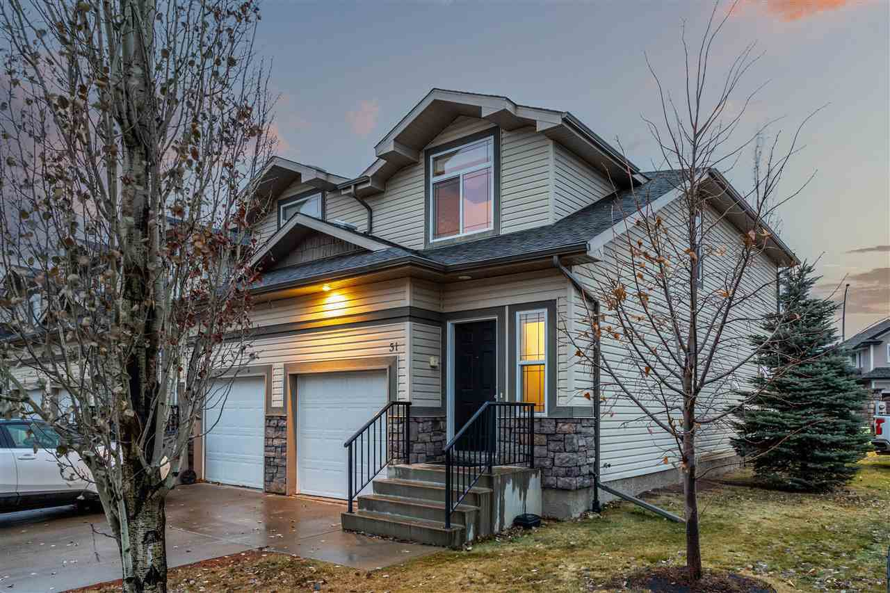 Main Photo: 51 9511 102 Avenue: Morinville Townhouse for sale : MLS®# E4220290