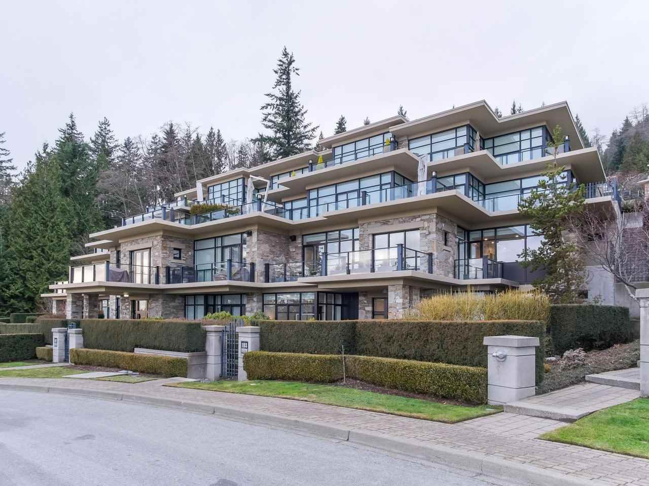 Main Photo: 103 2285 TWIN CREEK Place in West Vancouver: Whitby Estates Townhouse for sale : MLS®# R2485400
