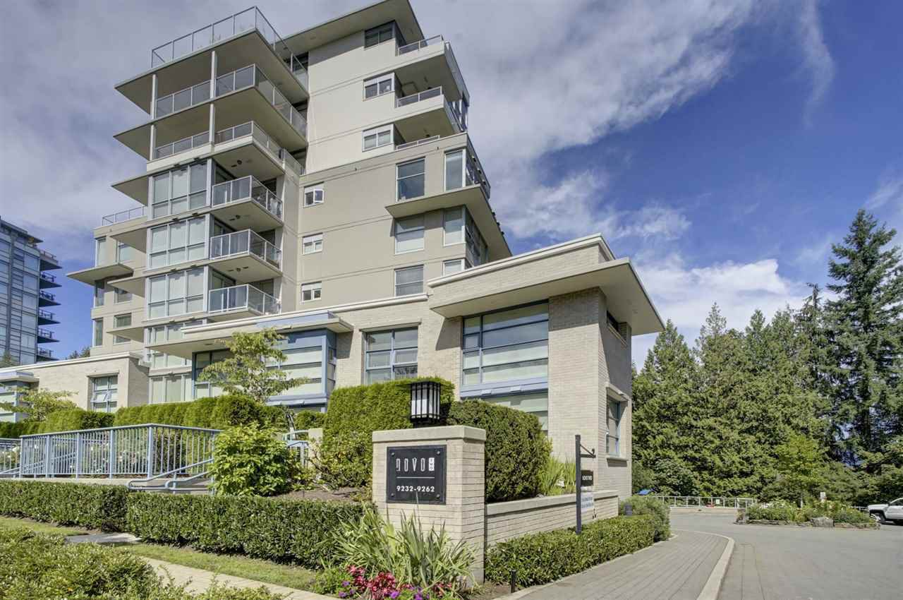 "Main Photo: 104 9232 UNIVERSITY Crescent in Burnaby: Simon Fraser Univer. Condo for sale in ""NOVO II"" (Burnaby North)  : MLS®# R2402634"