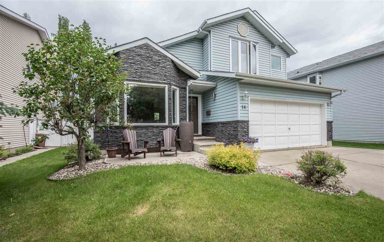 Main Photo: 14 DURAND Place: St. Albert House for sale : MLS®# E4173368