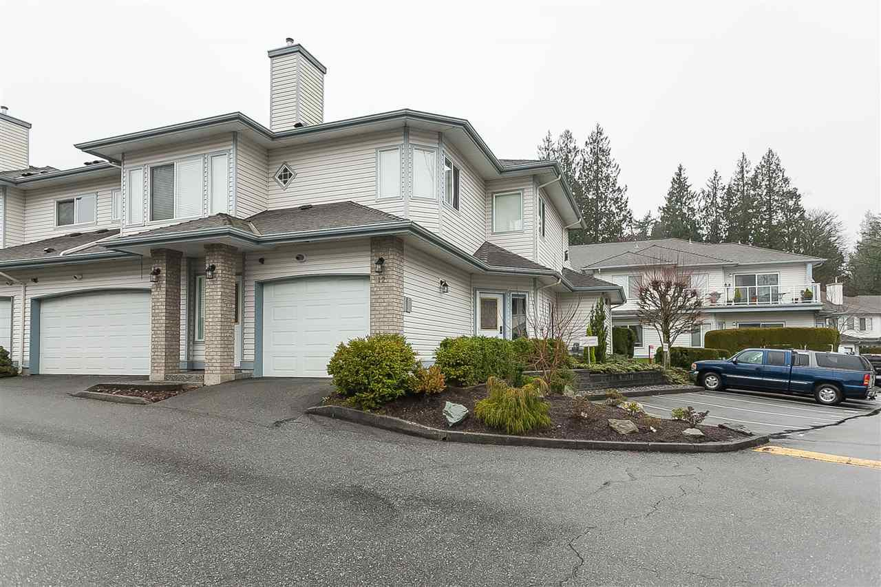 "Main Photo: 12 21579 88B Avenue in Langley: Walnut Grove Townhouse for sale in ""Carriage Park"" : MLS®# R2439015"
