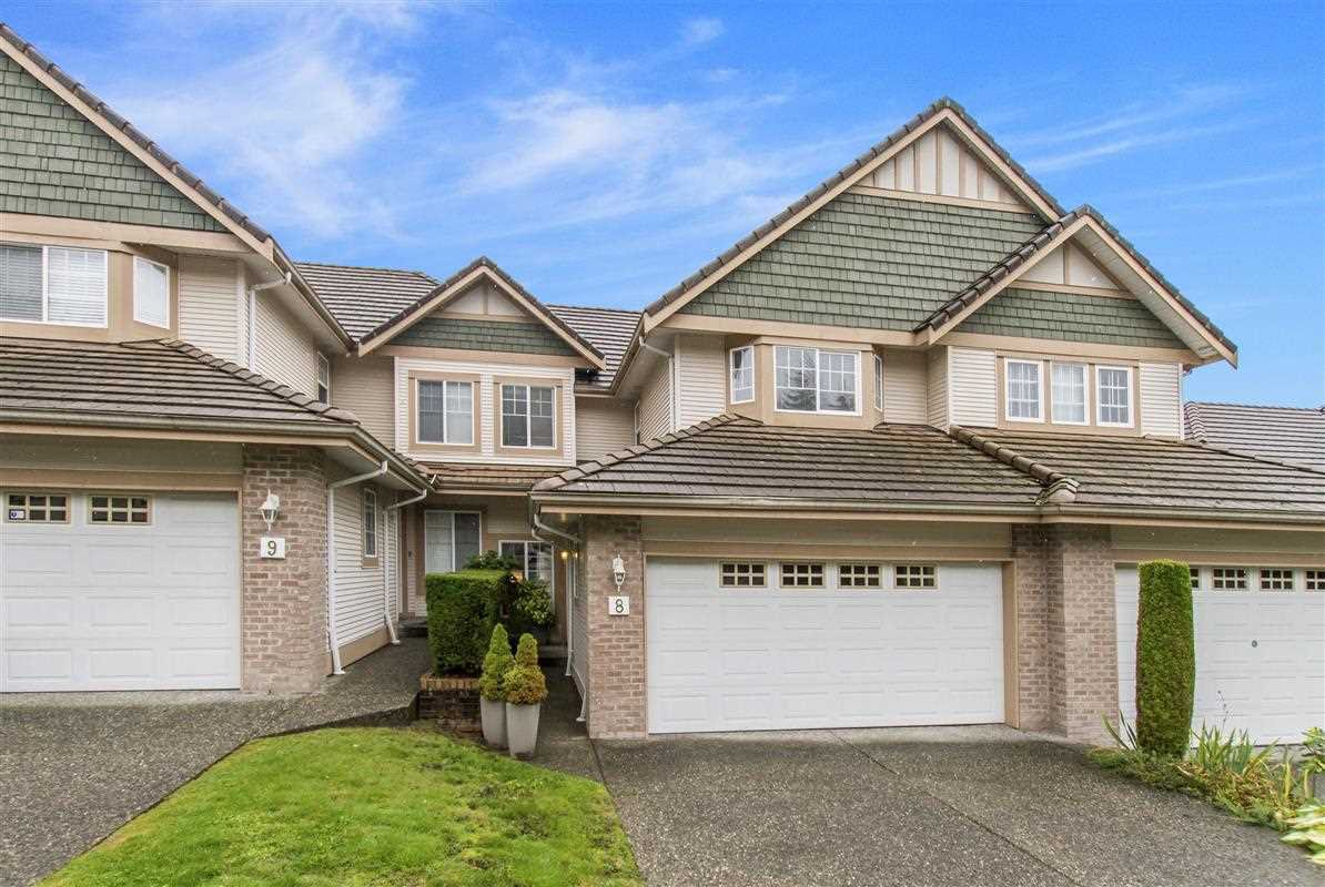 "Photo 1: Photos: 8 1751 PADDOCK Drive in Coquitlam: Westwood Plateau Townhouse for sale in ""Worthing Green South"" : MLS®# R2407092"