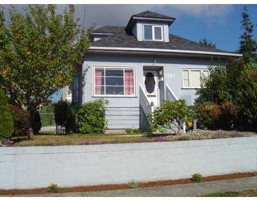 Main Photo: 1321 NANAIMO ST in New Westminster: West End NW House for sale : MLS®# V558578