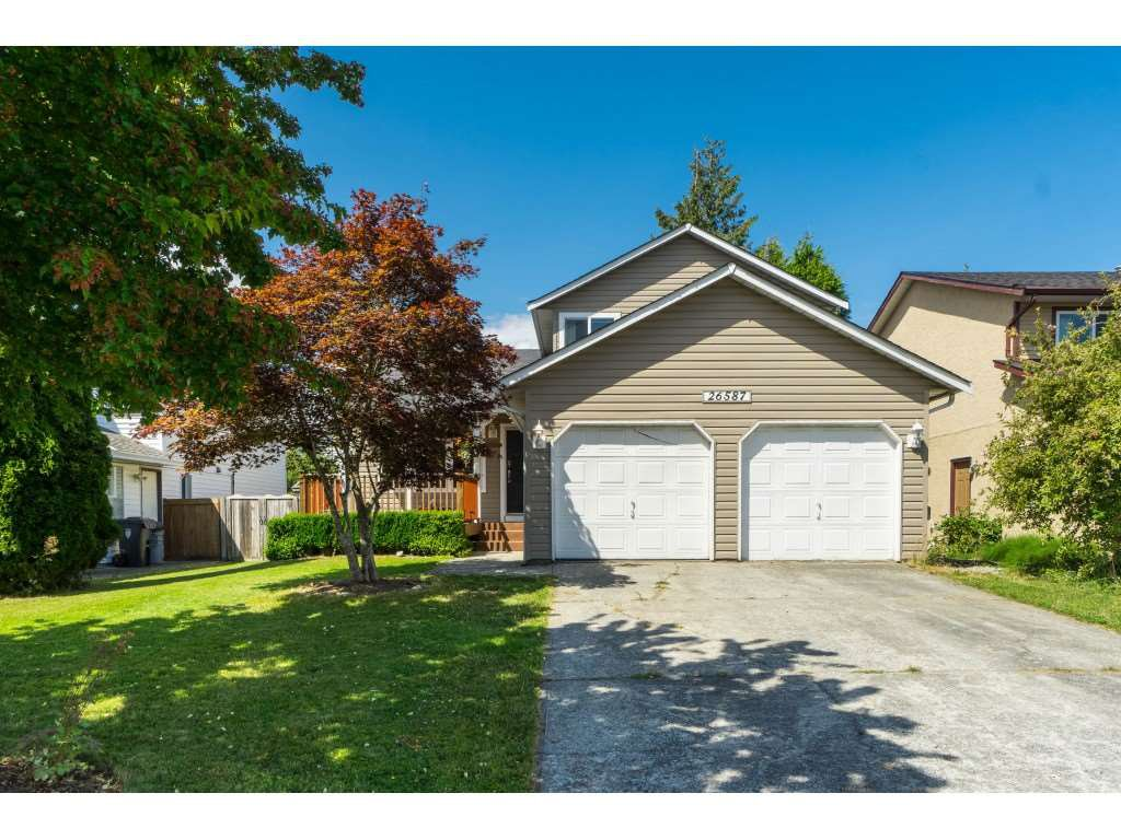 Main Photo: 26587 28A AVENUE in Langley: Aldergrove Langley House for sale : MLS®# R2389841