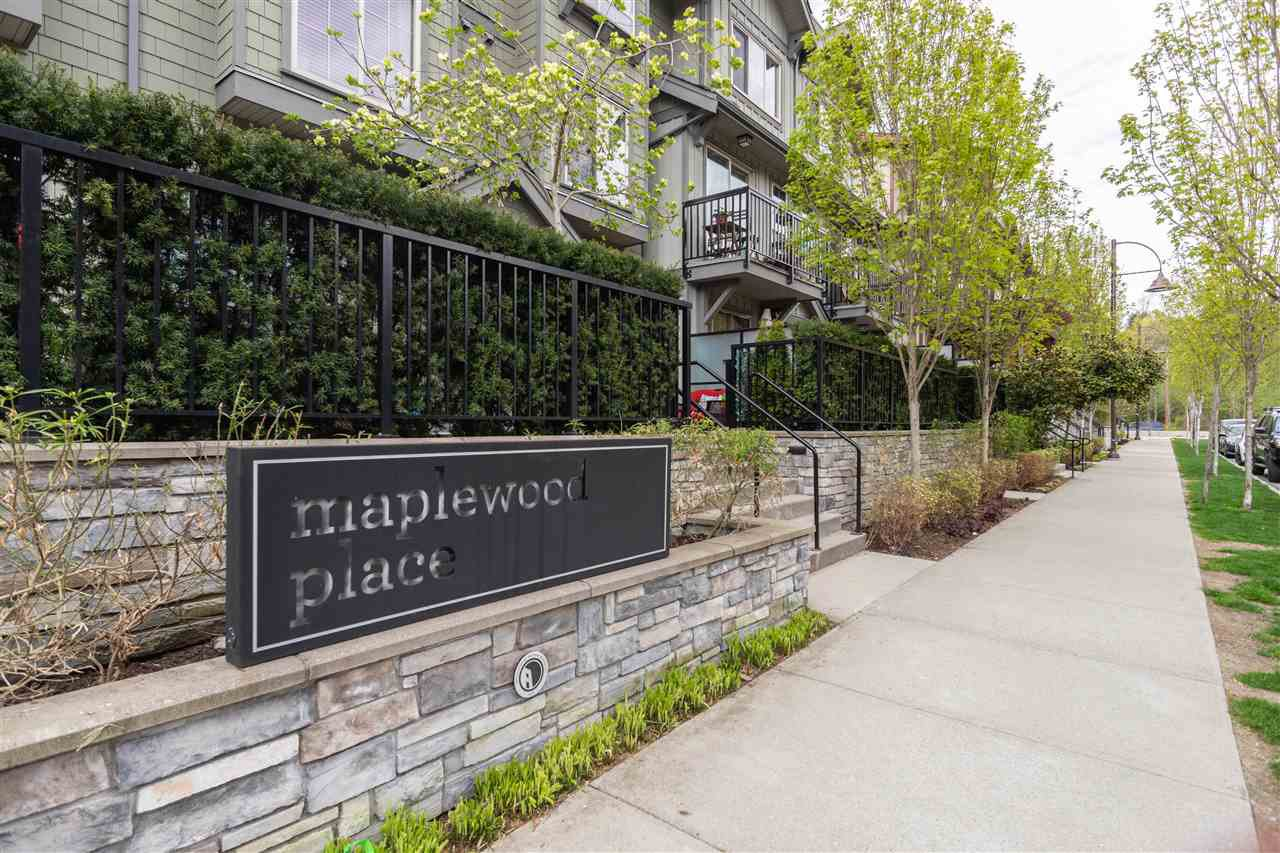 "Main Photo: 32 433 SEYMOUR RIVER Place in North Vancouver: Seymour NV Condo for sale in ""Maplewood Place"" : MLS®# R2452609"