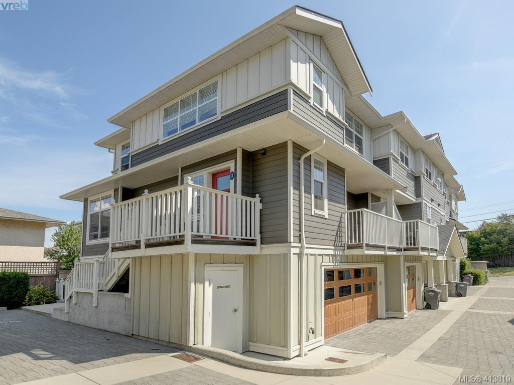 Main Photo: 11 3356 Whittier Avenue in VICTORIA: SW Rudd Park Row/Townhouse for sale (Saanich West)  : MLS®# 413819