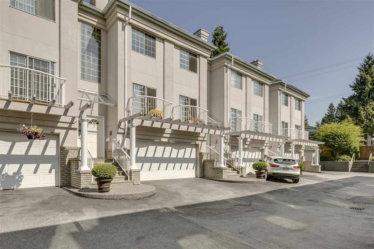 "Main Photo: 2 1282 PITT RIVER Road in Port Coquitlam: Citadel PQ Townhouse for sale in ""GEORGIAN COURT"" : MLS®# R2401503"