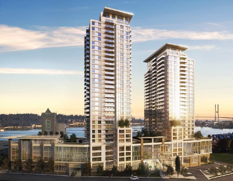 """Main Photo: 1502 988 QUAYSIDE Drive in New Westminster: Quay Condo for sale in """"RIVERSKY 2"""" : MLS®# R2450521"""
