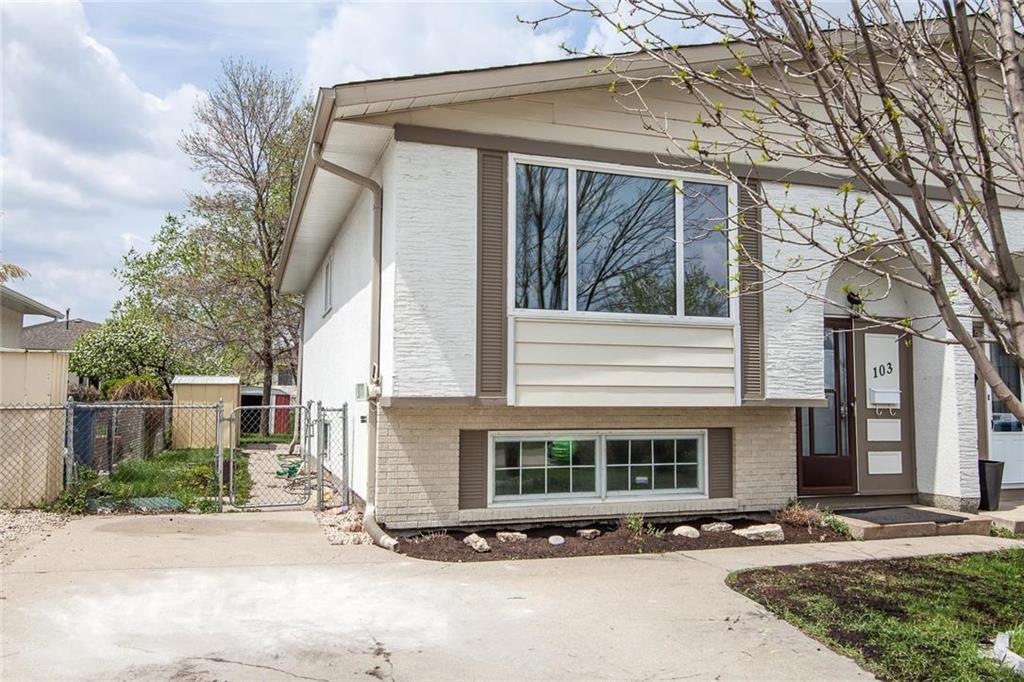 Main Photo: 103 Bernadine Crescent in Winnipeg: Crestview Residential for sale (5H)  : MLS®# 202011362