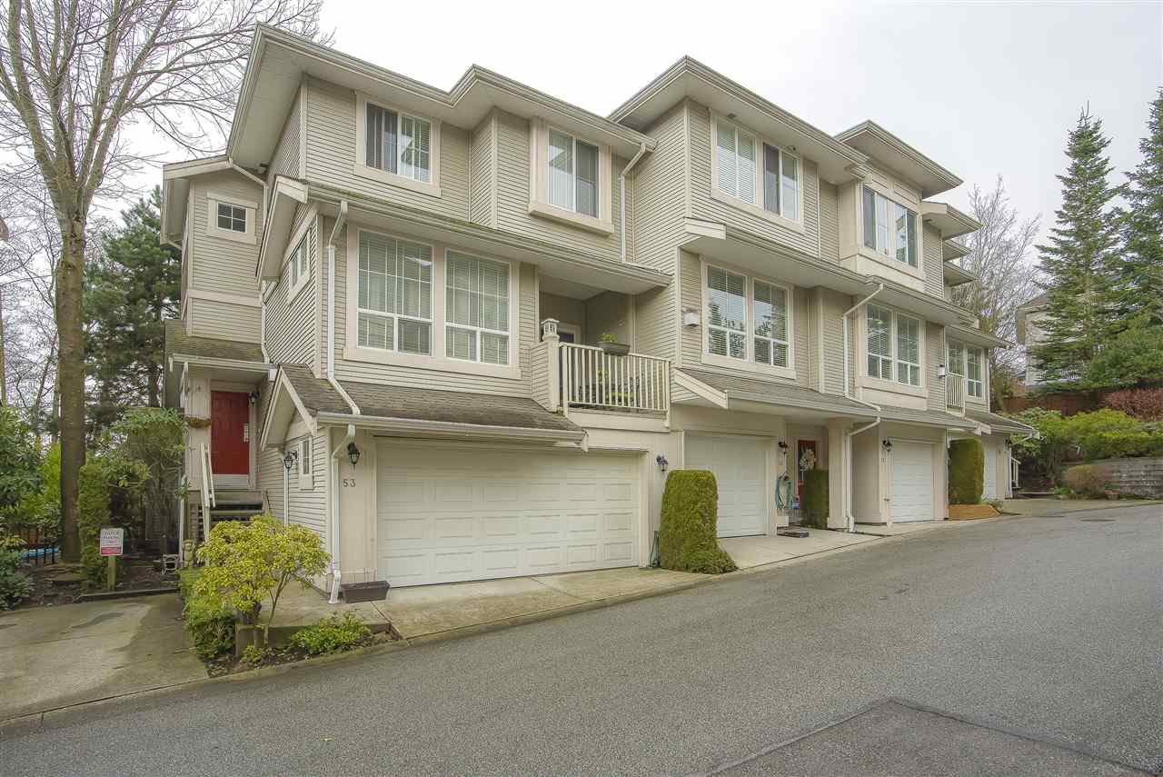"Main Photo: 53 14952 58TH Avenue in Surrey: Sullivan Station Townhouse for sale in ""HIGHBRAE"" : MLS®# R2448060"