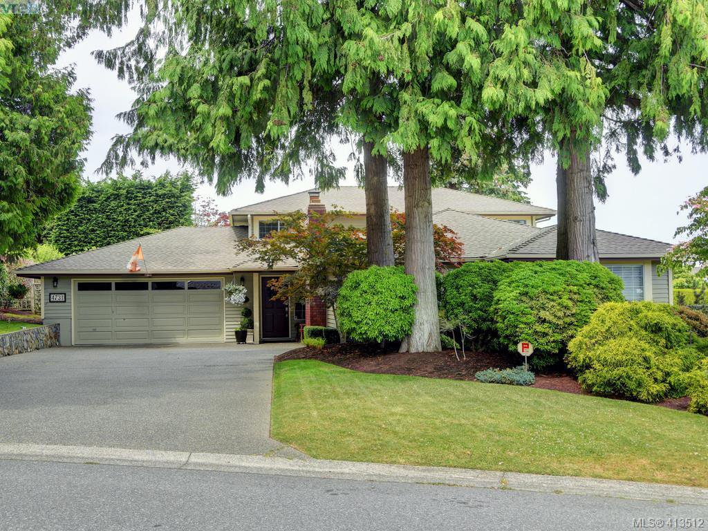 Main Photo: 4731 AMBLEWOOD Drive in VICTORIA: SE Cordova Bay Single Family Detached for sale (Saanich East)  : MLS®# 413512