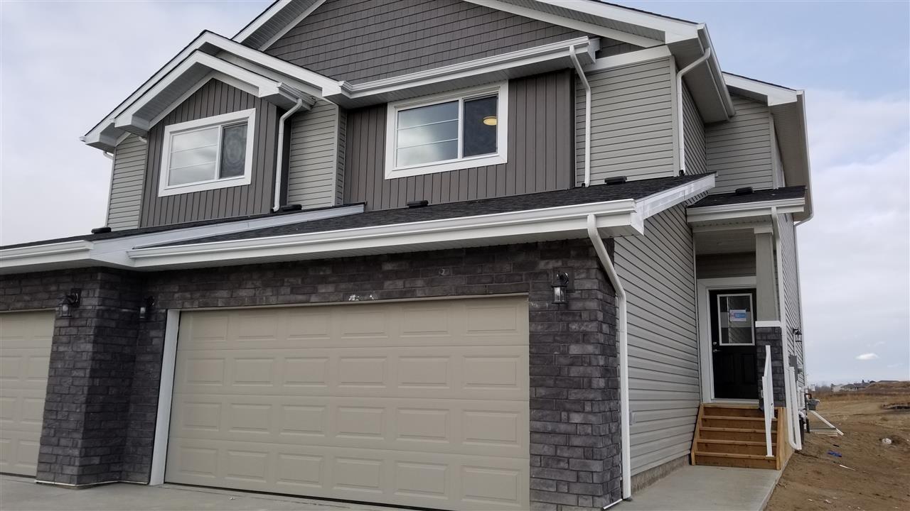 Main Photo: 58 WINGATE Way: Fort Saskatchewan House Half Duplex for sale : MLS®# E4183395
