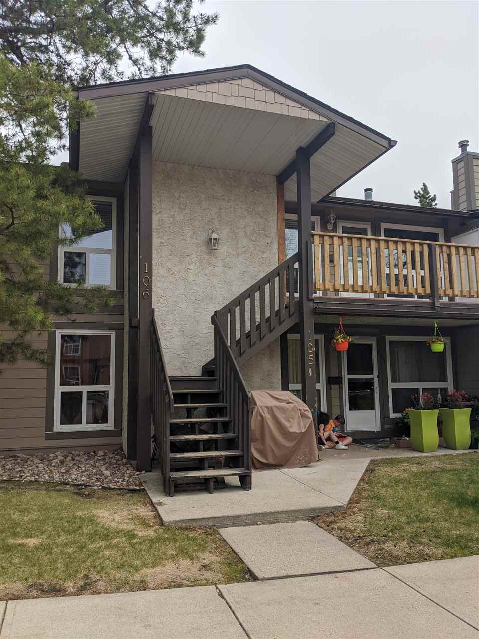 Main Photo: 106 70 Woodlands Road: St. Albert Carriage for sale : MLS®# E4191345