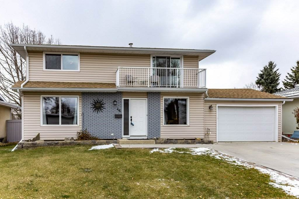 Main Photo: 46 Greenbrier Crescent: St. Albert House for sale : MLS®# E4218862