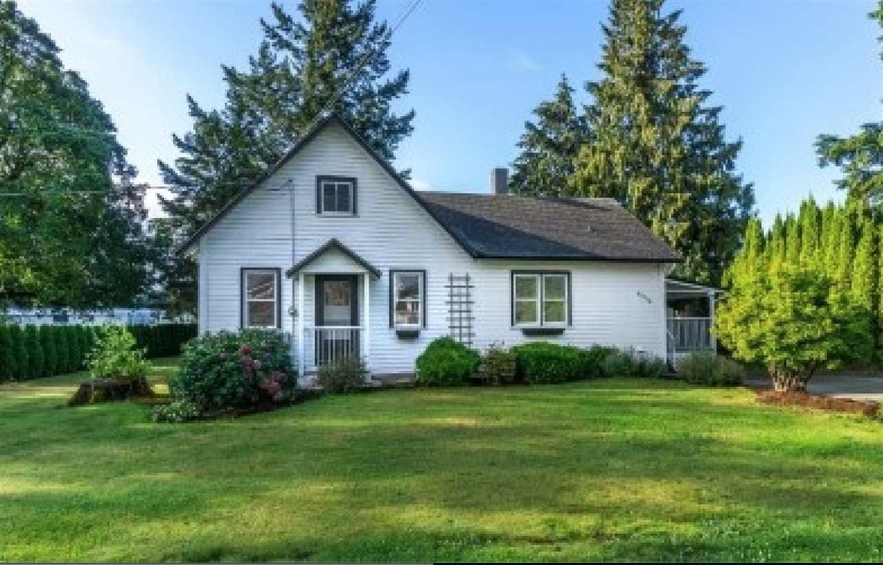 Main Photo: 33508 HUNTINGDON Road in Abbotsford: Poplar House for sale : MLS®# R2513494