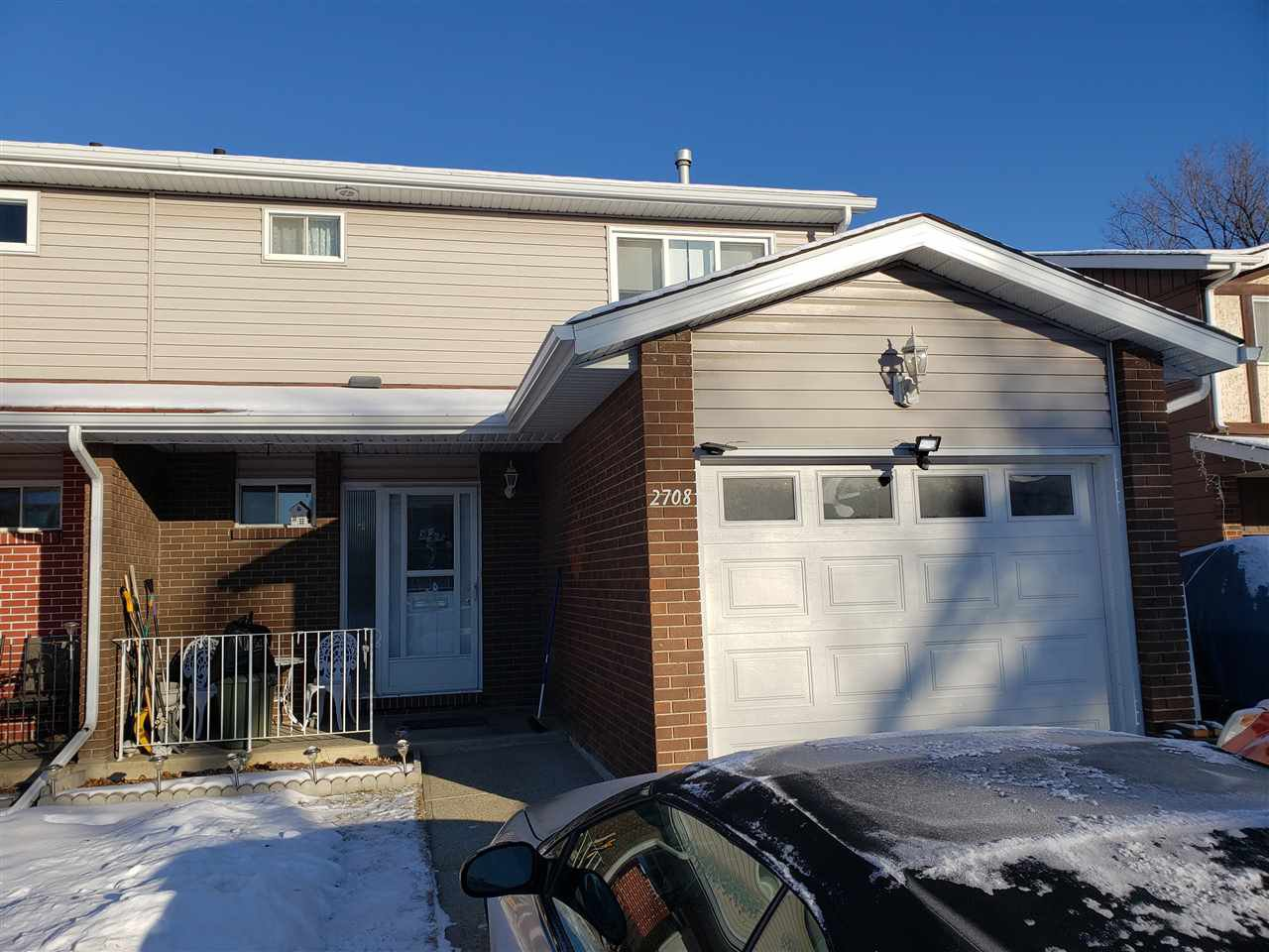 Main Photo: 2708 135 Avenue in Edmonton: Zone 35 House Half Duplex for sale : MLS®# E4182823