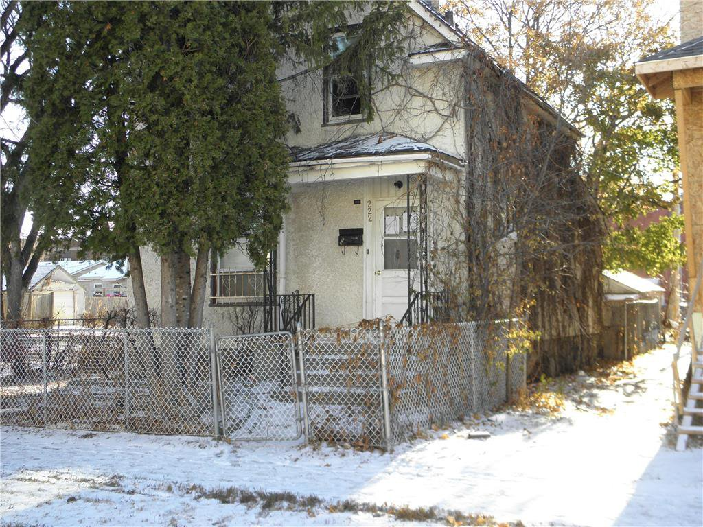 Main Photo: 222 Polson Avenue in Winnipeg: North End Residential for sale (4C)  : MLS®# 202027937