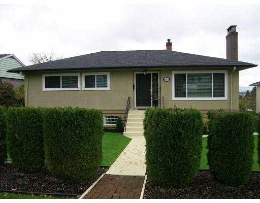 Main Photo: 4119 HAZELWOOD Crescent in Burnaby: Garden Village House for sale (Burnaby South)  : MLS®# V621464