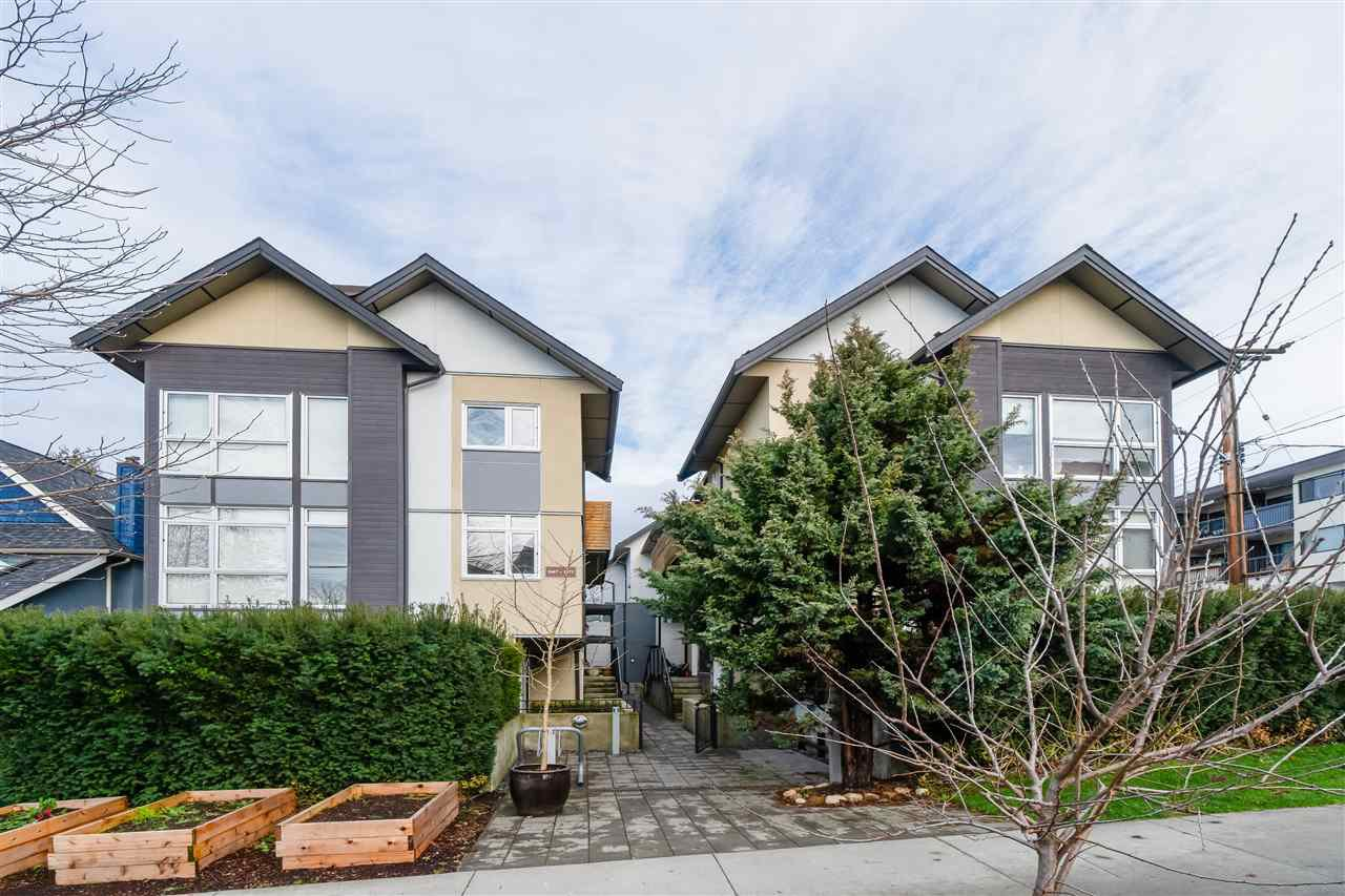 "Main Photo: 1683 KITCHENER Street in Vancouver: Grandview Woodland Townhouse for sale in ""Kitchener Mews"" (Vancouver East)  : MLS®# R2433209"