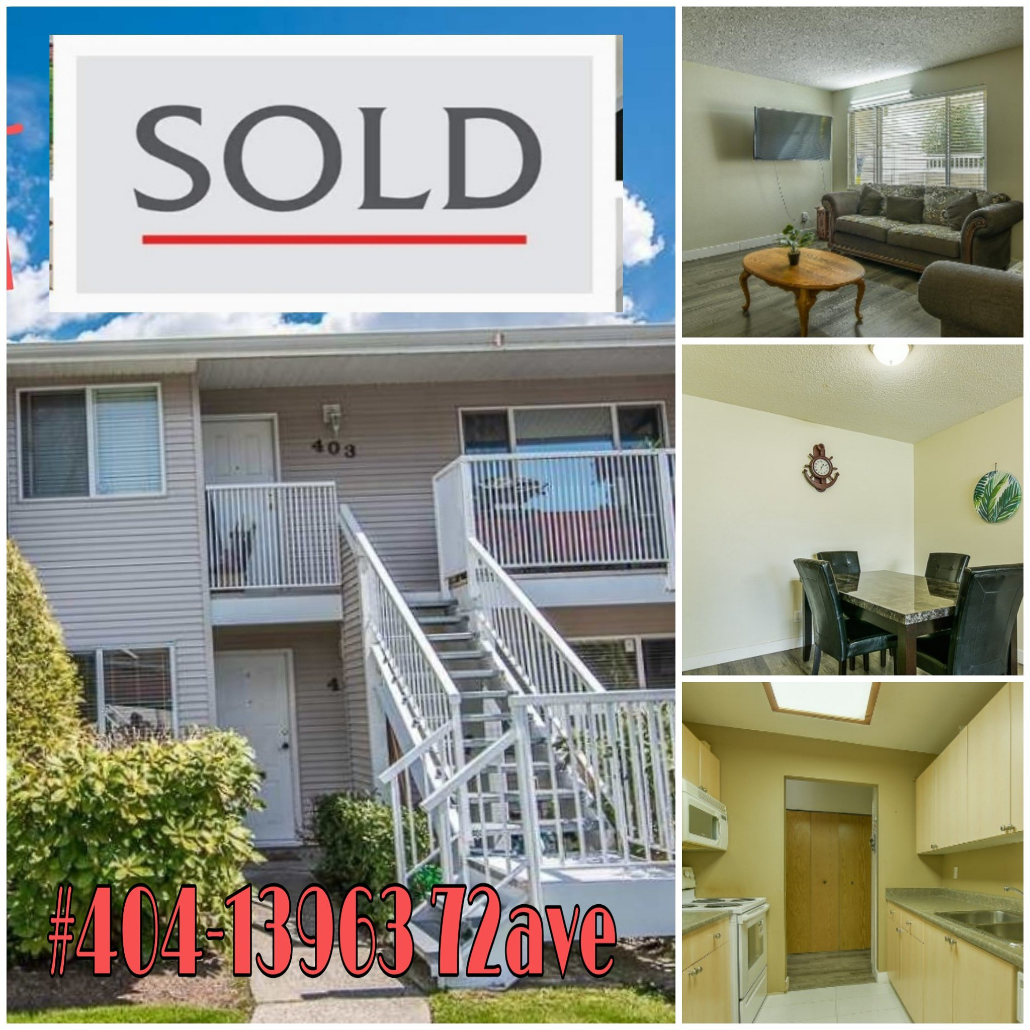 Main Photo: 404 13963 72 ave in Surrey: Townhouse for sale : MLS®# r2371185
