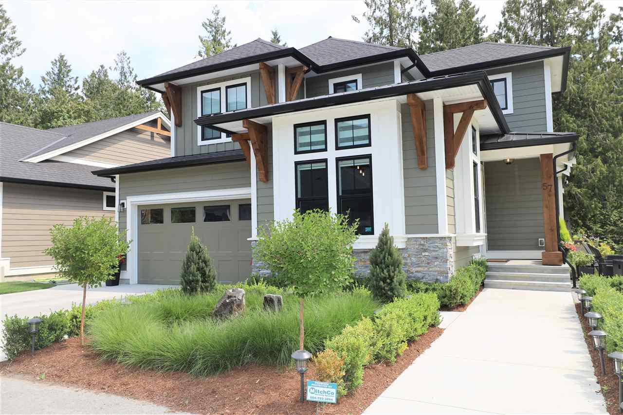 "Main Photo: 57 1885 COLUMBIA VALLEY Road in Cultus Lake: Lindell Beach House for sale in ""AQUADEL CROSSING"" : MLS®# R2482079"