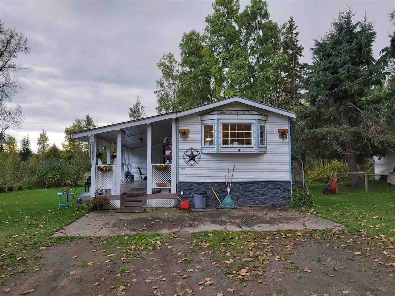Main Photo: 6735 SALMON VALLEY Road: Salmon Valley Manufactured Home for sale (PG Rural North (Zone 76))  : MLS®# R2502333