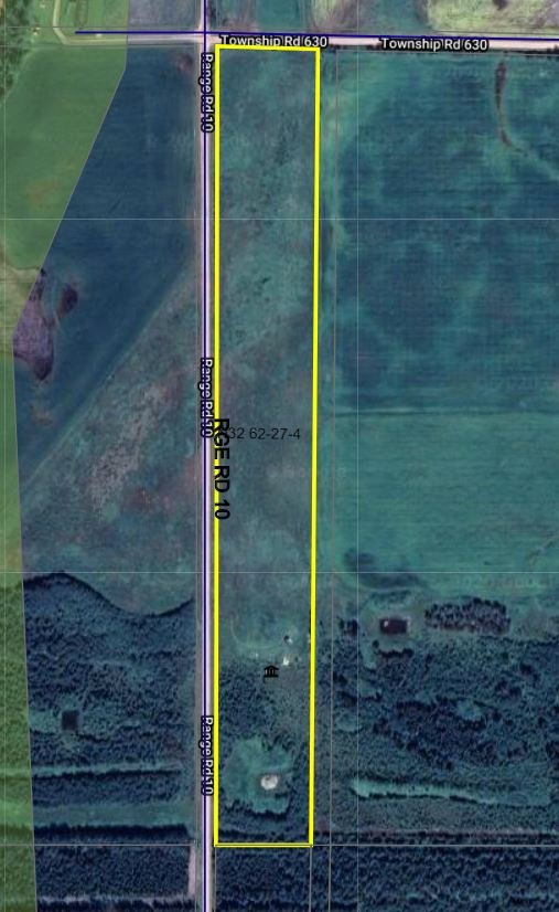 Main Photo: 62519 RR10: Rural Westlock County Rural Land/Vacant Lot for sale : MLS®# E4216738