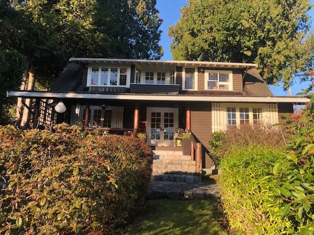 Main Photo: 2397 HAYWOOD Avenue in West Vancouver: Dundarave House for sale : MLS®# R2525737