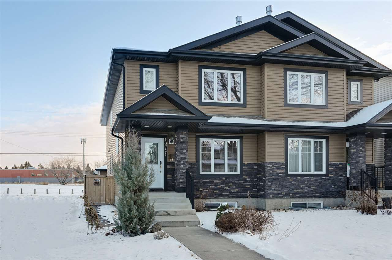 Main Photo: 10721 122 Street in Edmonton: Zone 07 House Half Duplex for sale : MLS®# E4184478