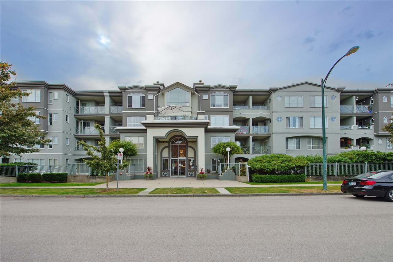 """Main Photo: 102 6475 CHESTER Street in Vancouver: South Vancouver Condo for sale in """"Southridge House"""" (Vancouver East)  : MLS®# R2510651"""