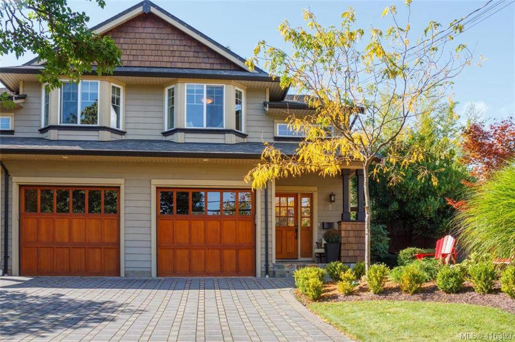 Main Photo: 2520 Cedar Hill Rd in VICTORIA: Vi Oaklands Half Duplex for sale (Victoria)  : MLS®# 825982