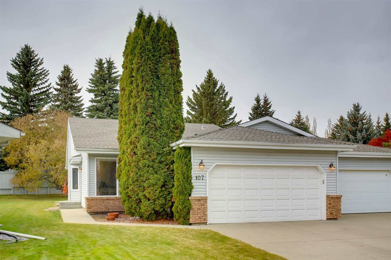 Main Photo: 107 REHWINKEL Road in Edmonton: Zone 14 Attached Home for sale : MLS®# E4177285