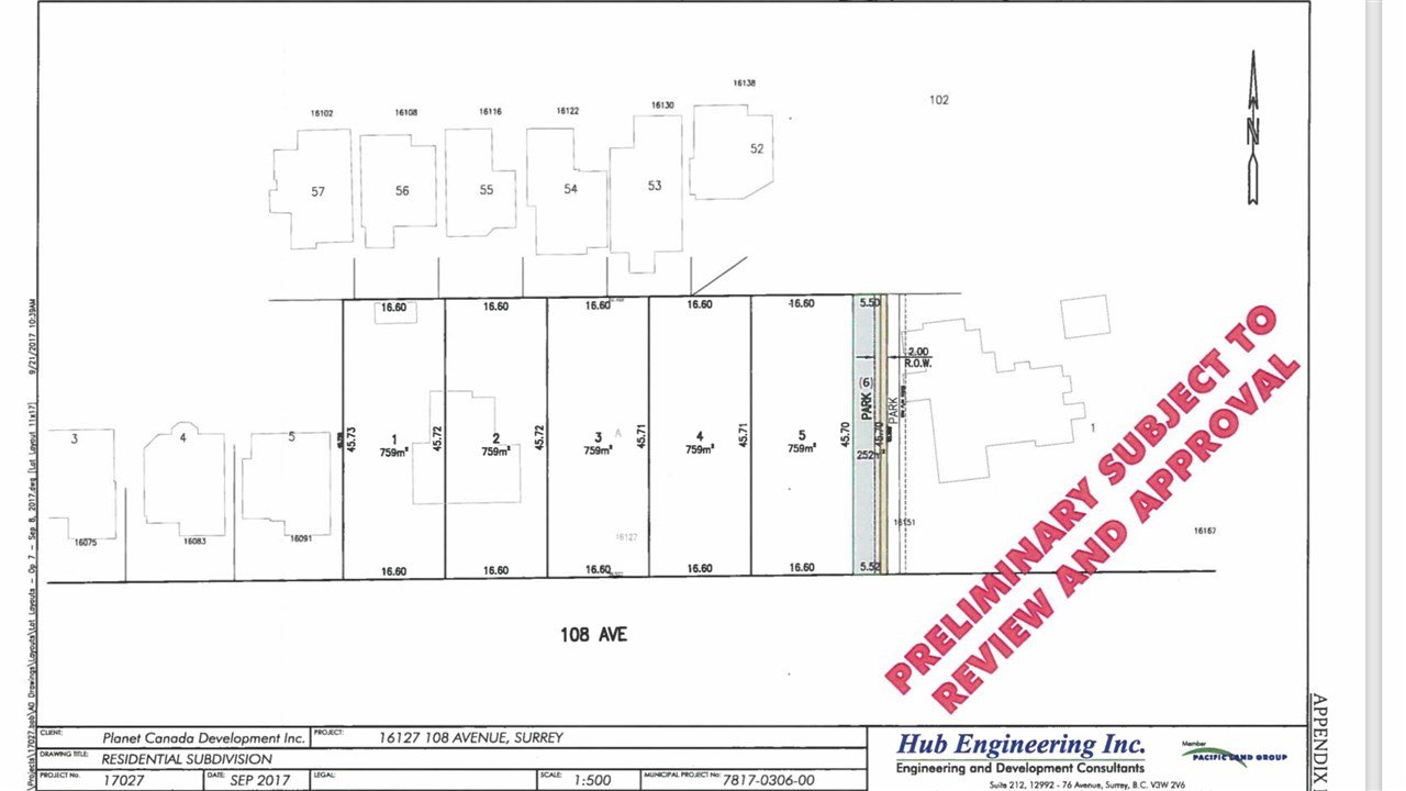 Main Photo: 2 16127 108 Avenue in Surrey: Fraser Heights Land for sale (North Surrey)  : MLS®# R2421882
