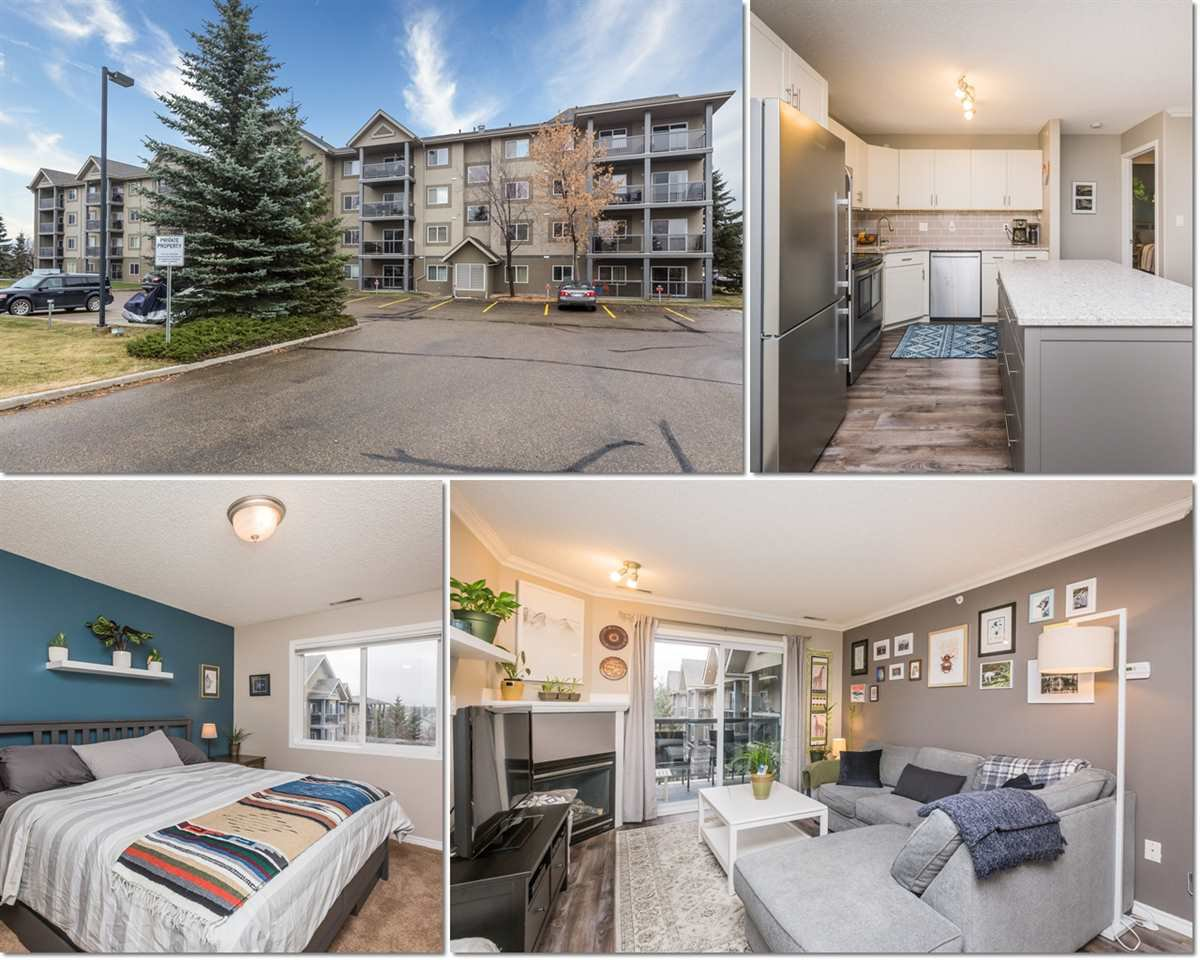 Main Photo: 431 279 SUDER GREENS Drive in Edmonton: Zone 58 Condo for sale : MLS®# E4220241