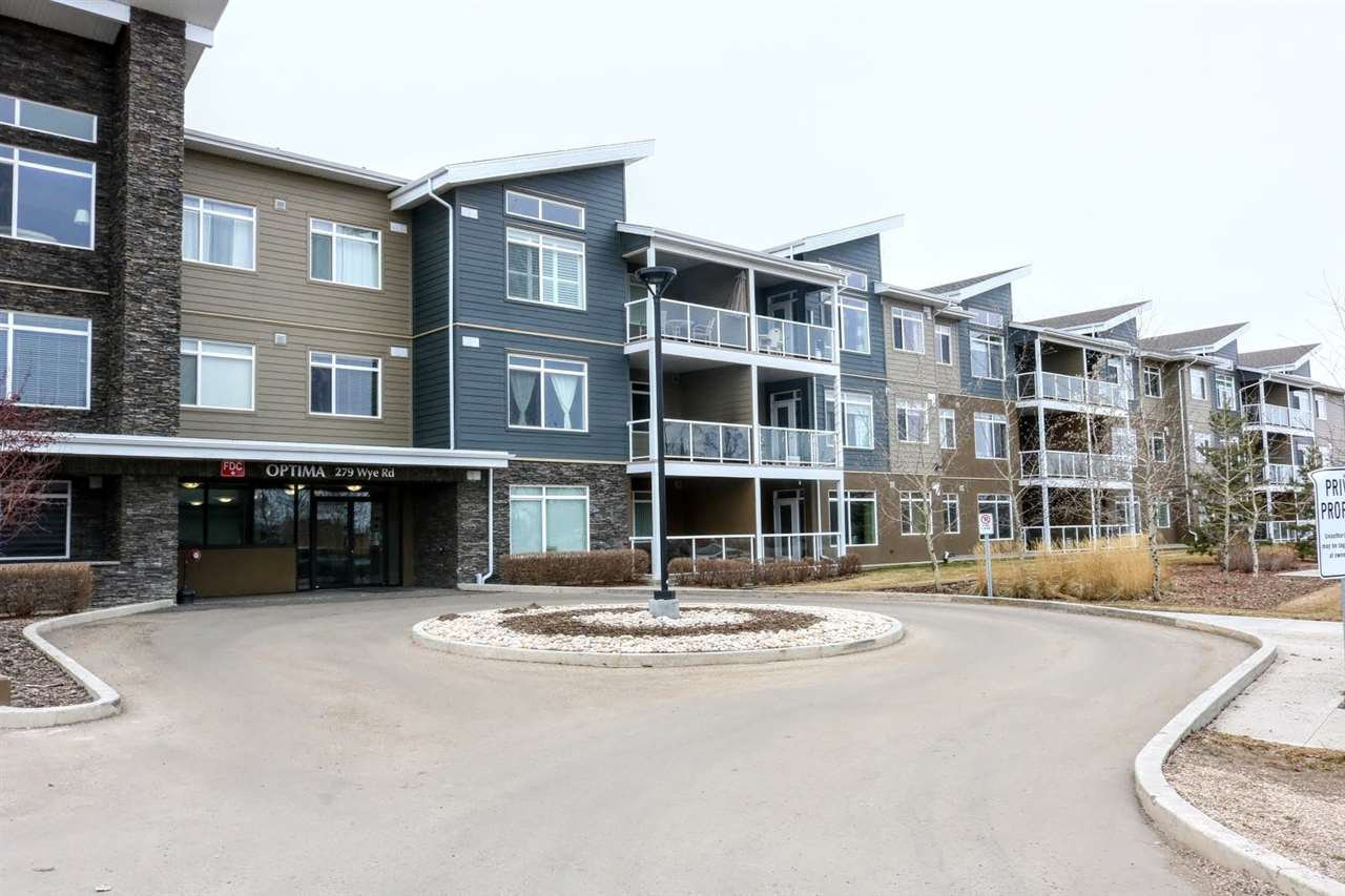 Main Photo: 211 279 Wye Road: Sherwood Park Condo for sale : MLS®# E4171319