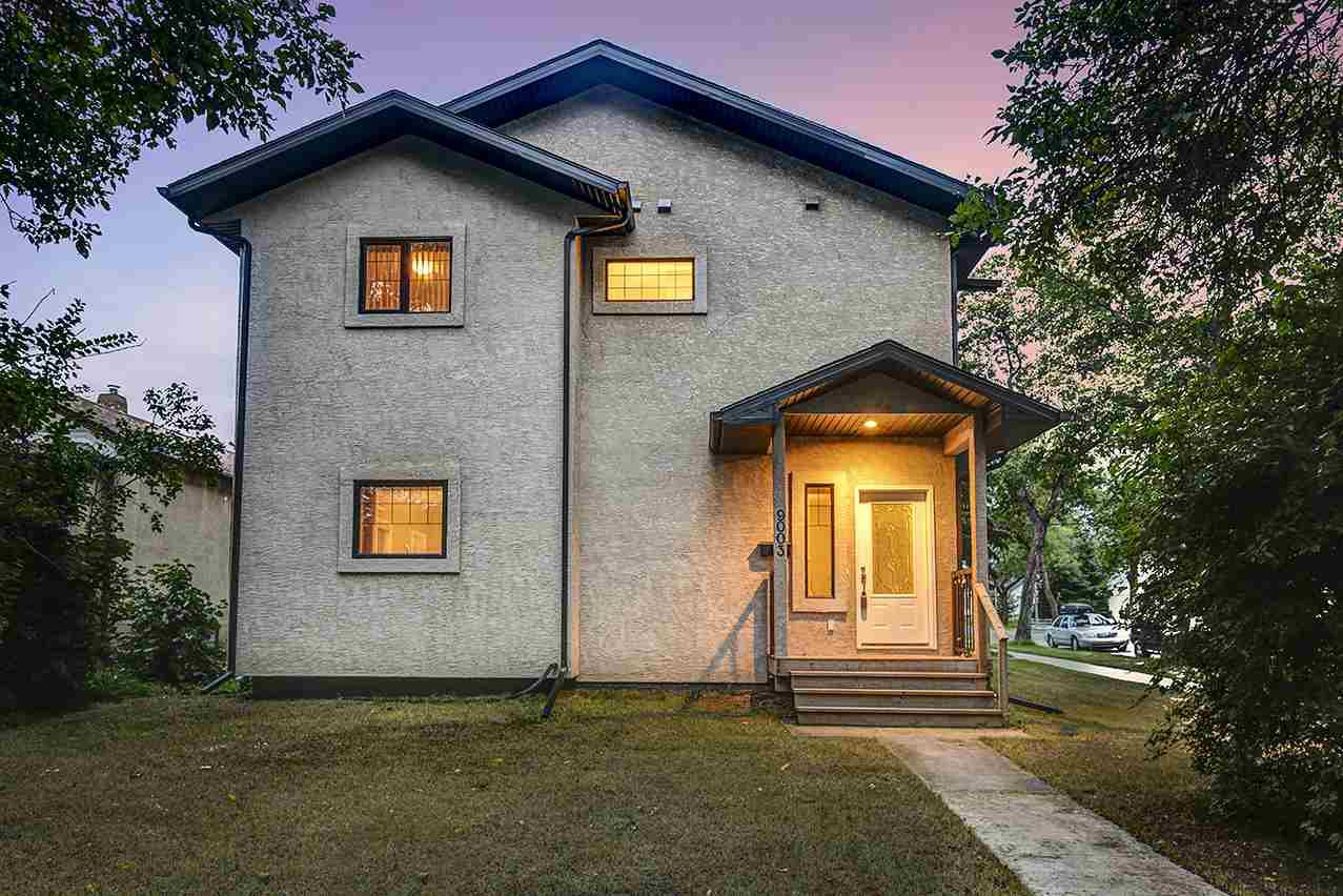 Main Photo: 9003 91 Street in Edmonton: Zone 18 Duplex Front and Back for sale : MLS®# E4172642