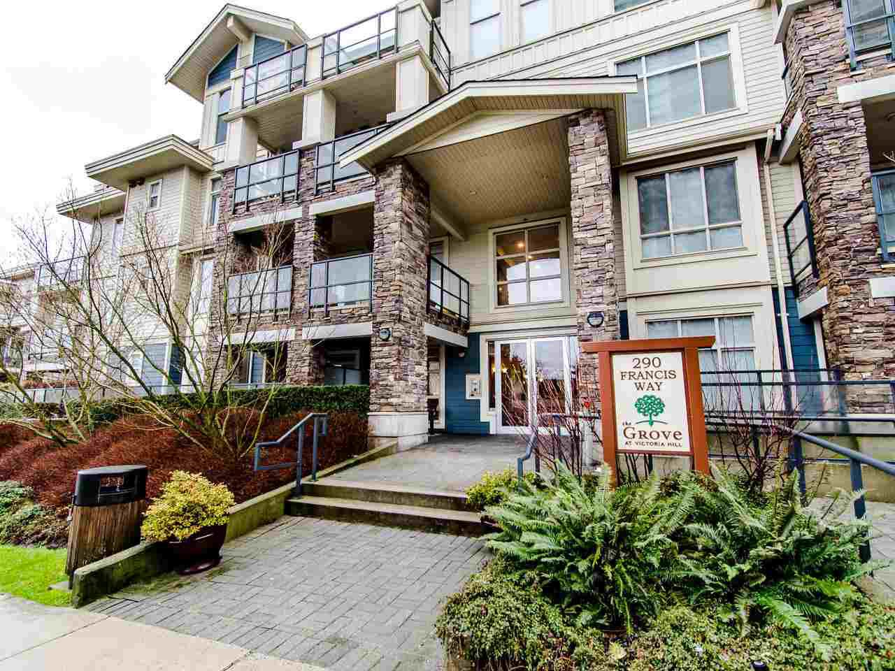 "Main Photo: 205 290 FRANCIS Way in New Westminster: Fraserview NW Condo for sale in ""THE GROVE"" : MLS®# R2433044"