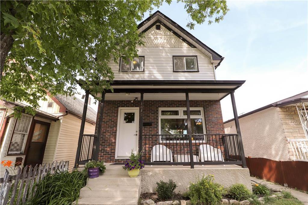 Main Photo: 1615 Ross Avenue in Winnipeg: Weston Residential for sale (5D)  : MLS®# 202018631