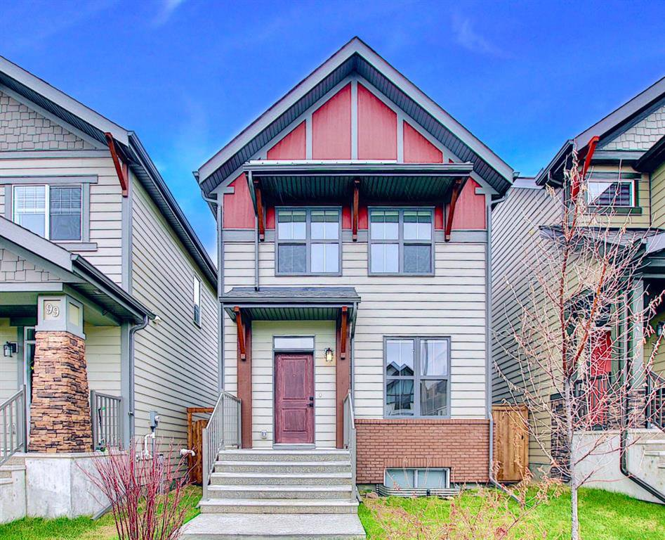 Main Photo: 95 MASTERS Crescent SE in Calgary: Mahogany Detached for sale : MLS®# A1027928