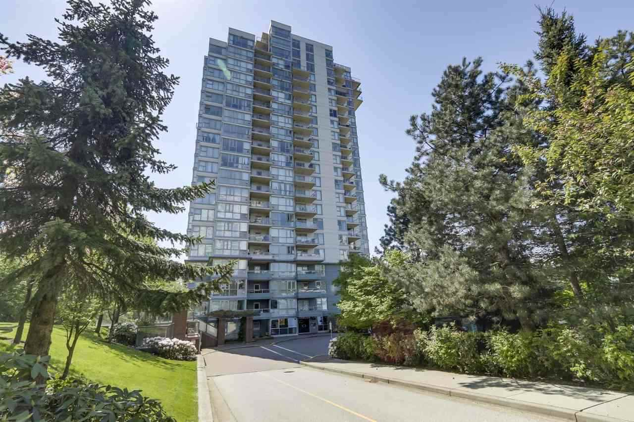 Main Photo: 1105 235 GUILDFORD WAY in Port Moody: North Shore Pt Moody Condo for sale : MLS®# R2422707