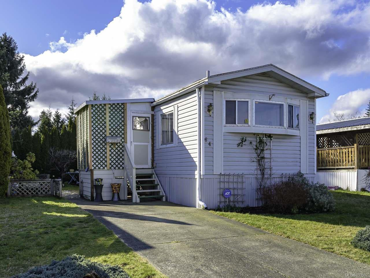Main Photo: 64 390 Cowichan Ave in COURTENAY: CV Courtenay East Manufactured Home for sale (Comox Valley)  : MLS®# 833987