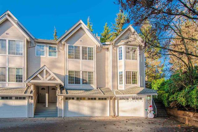 Main Photo: 21 2600 Beaverbrook Crescent in Burnaby: Simon Fraser Hills Townhouse for sale (Burnaby North)  : MLS®# R2521178