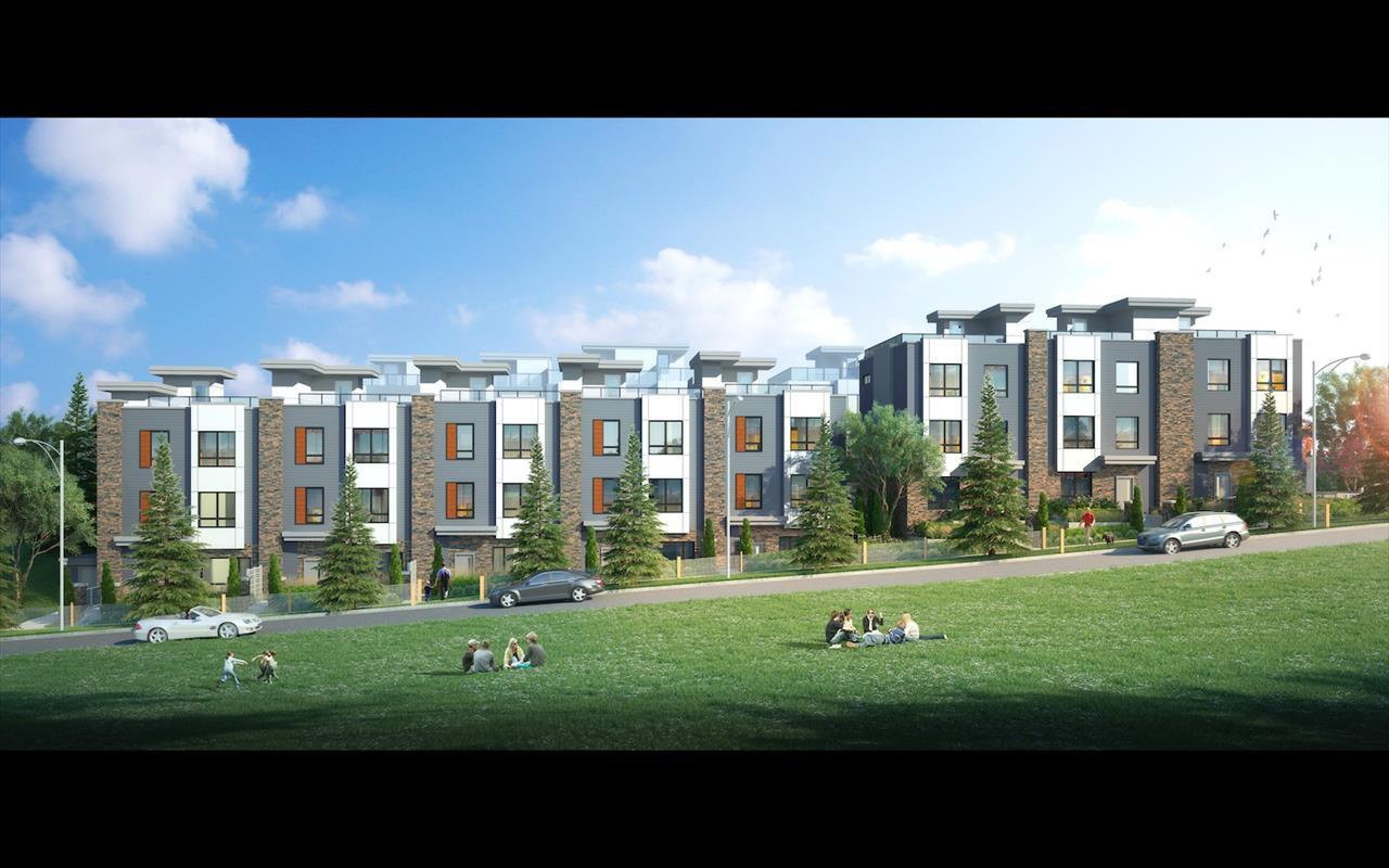 Main Photo: 3 3503 GISLASON Avenue in Coquitlam: Burke Mountain Townhouse for sale : MLS®# R2524875