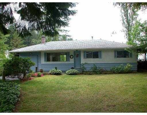 Main Photo: 2711 LARKIN AV in Port Coquiltam: Woodland Acres PQ House for sale (Port Coquitlam)  : MLS®# V537564