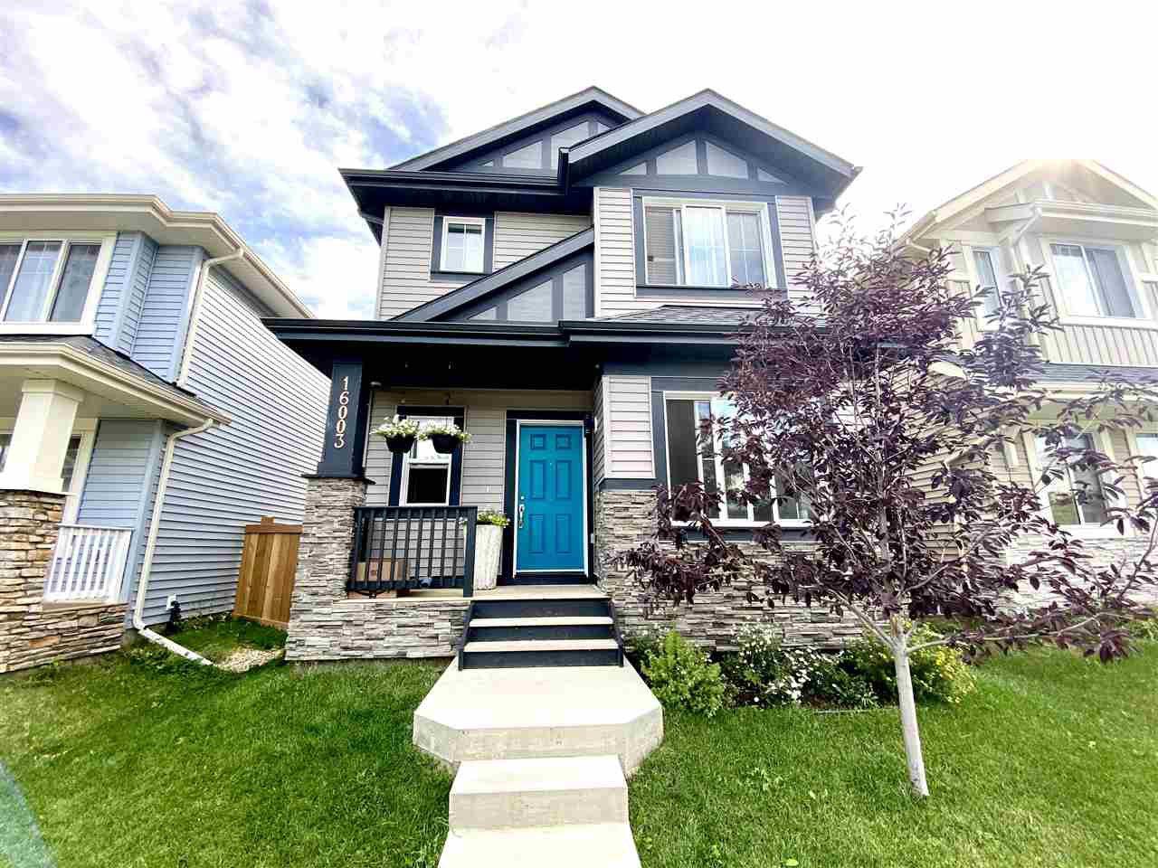 Main Photo: 16003 13 Avenue in Edmonton: Zone 56 House for sale : MLS®# E4212087