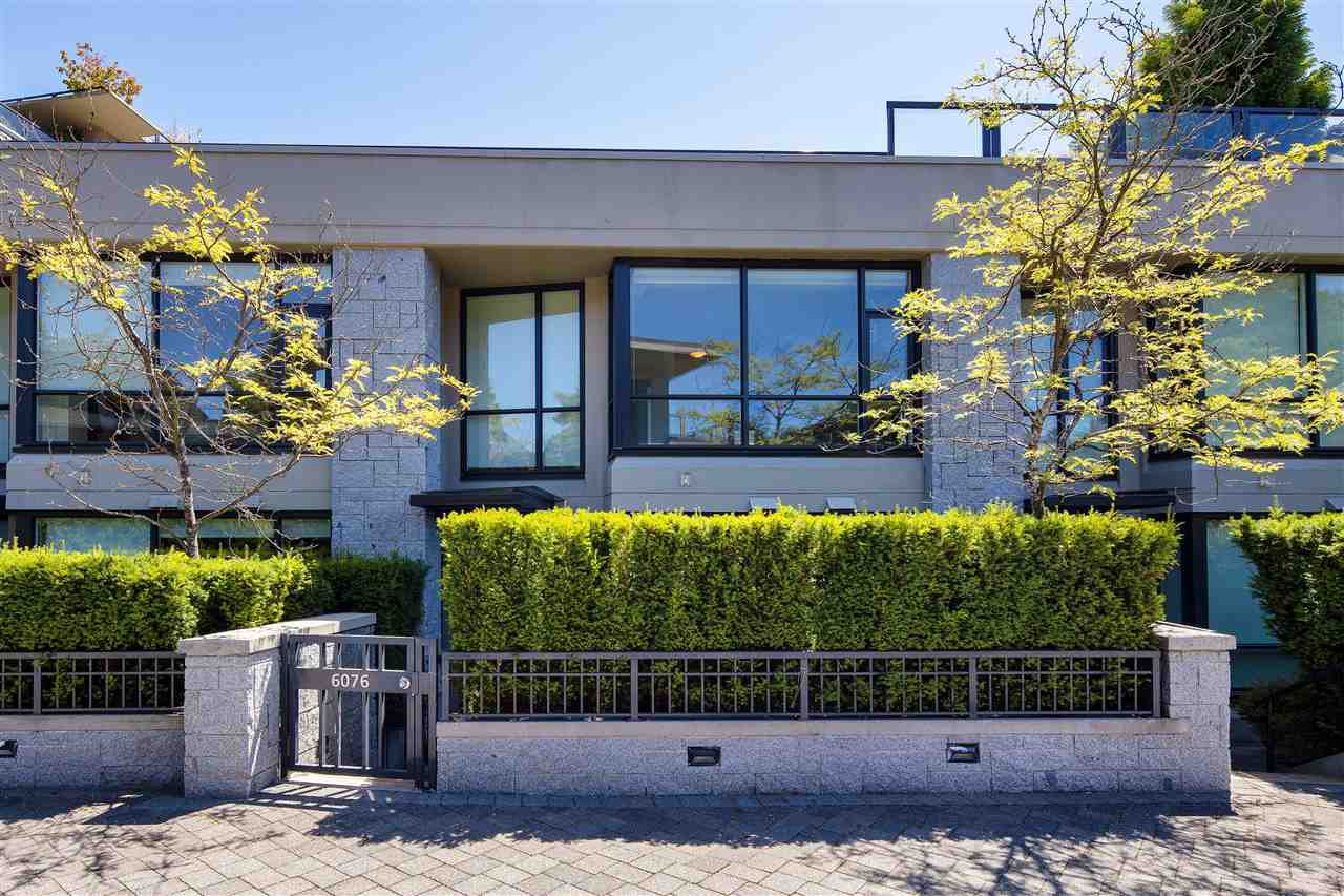"""Main Photo: 6076 CHANCELLOR Mews in Vancouver: University VW Townhouse for sale in """"The Coast"""" (Vancouver West)  : MLS®# R2494126"""