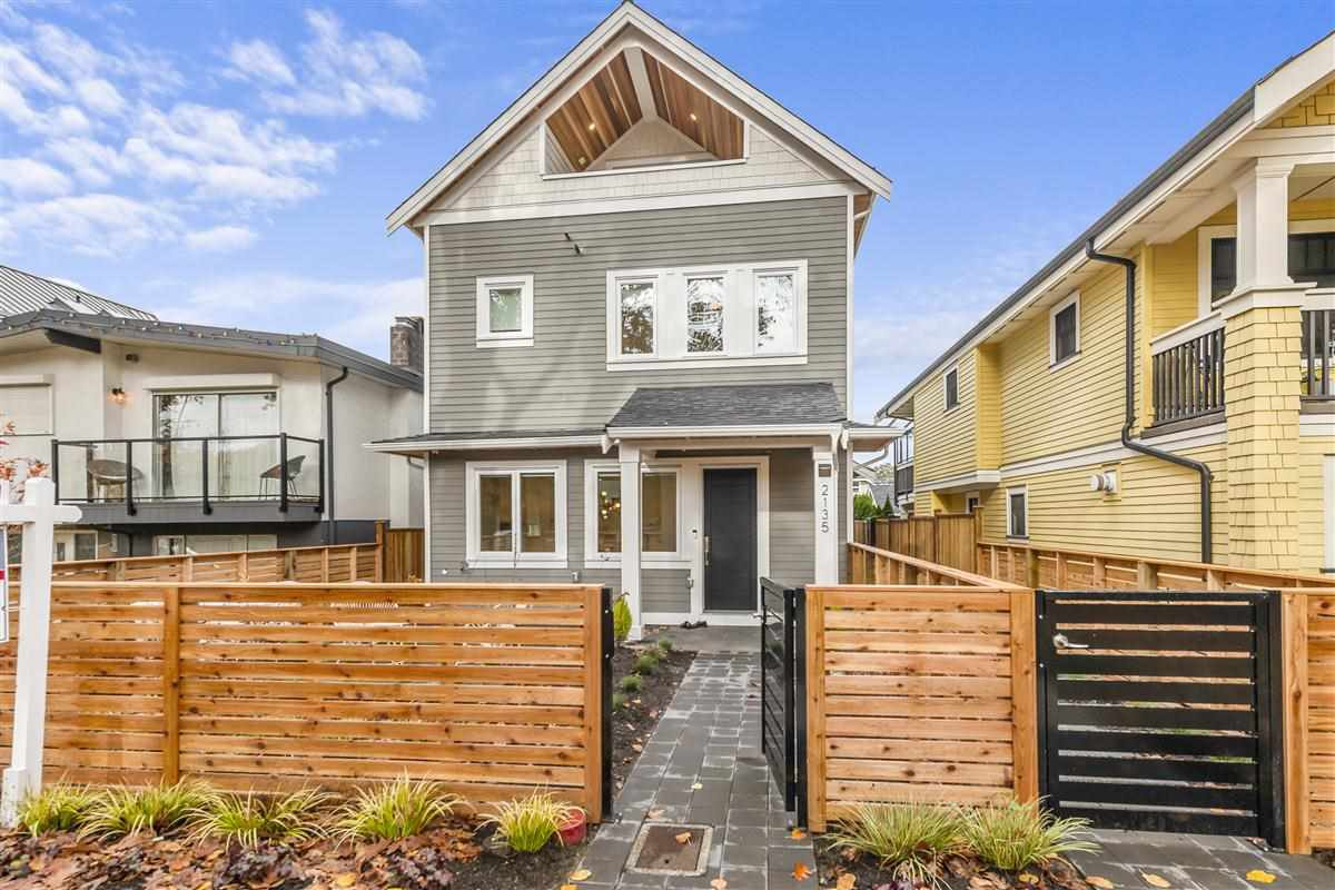 Main Photo: 2135 E 2ND Avenue in Vancouver: Grandview Woodland 1/2 Duplex for sale (Vancouver East)  : MLS®# R2516904