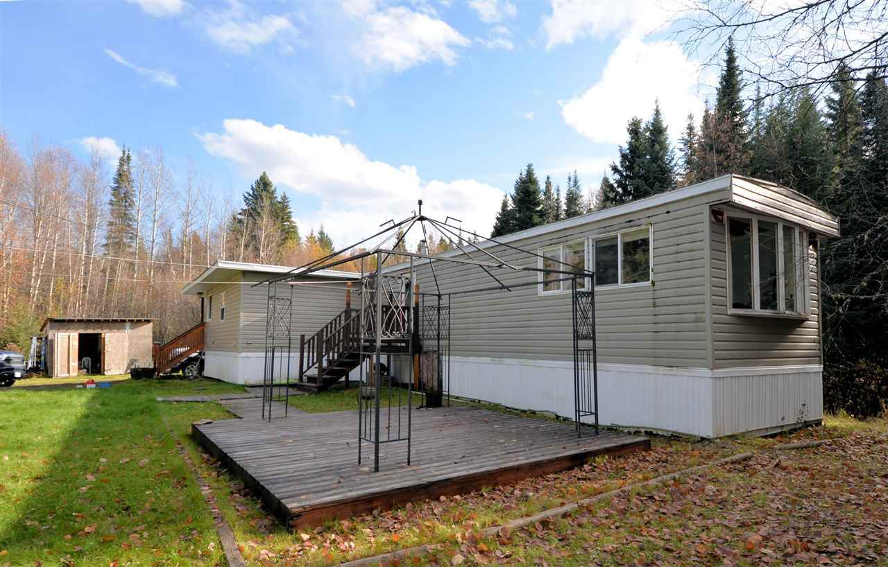 "Main Photo: 10265 FAIRWAY Road in Prince George: Shelley Manufactured Home for sale in ""SHELLY"" (PG Rural East (Zone 80))  : MLS®# R2414159"